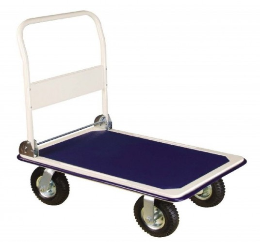 Plošinový vozík ERBA 300kg nafukovací kola ER-03118