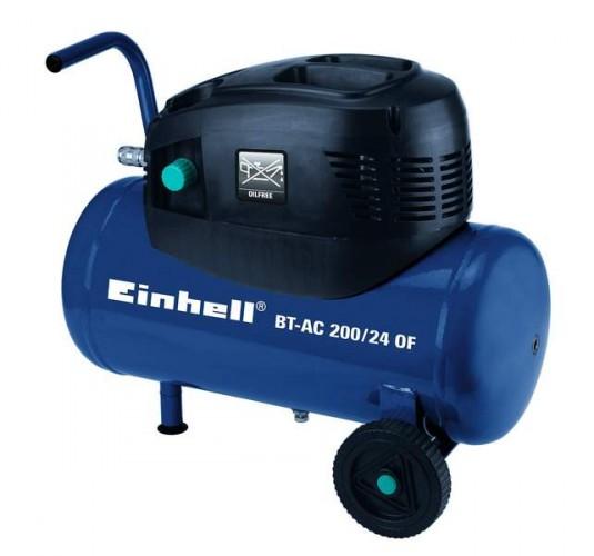 Kompresor EINHELL 1,1KW, 176l/min, 24l BT-AC 200/24 OF Blue