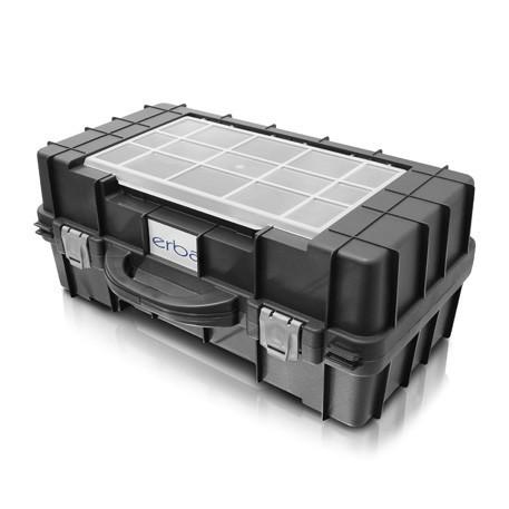 Plastový kufr ERBA na elektrické ruční nářadí HD, 59,7x24x37,7cm