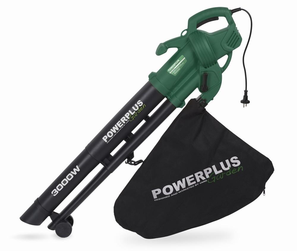 Zahradní vysavač listí POWERPLUS 3000W POW63172