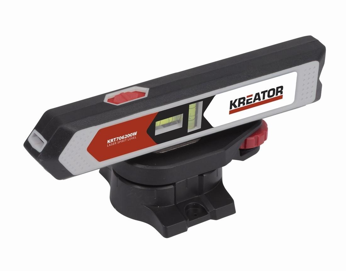 Laserová vodováha KREATOR KRT706200W