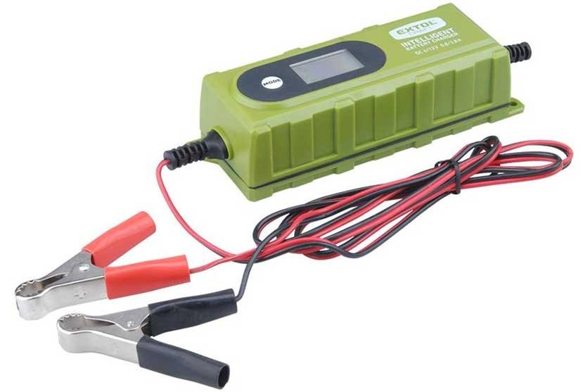 Nabíječka baterií EXTOL 6V/12V, 3,8A 417300