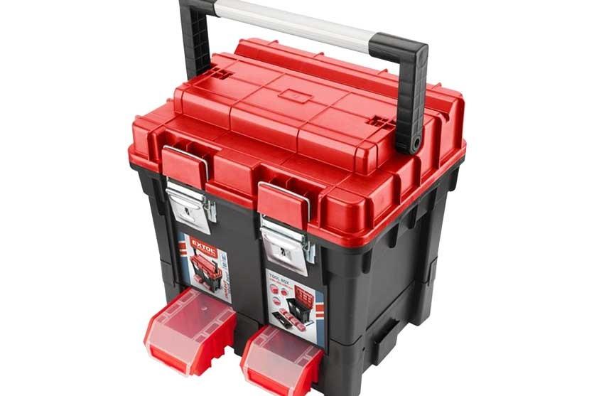 Plastový kufr EXTOL 150x350x450mm 8856083