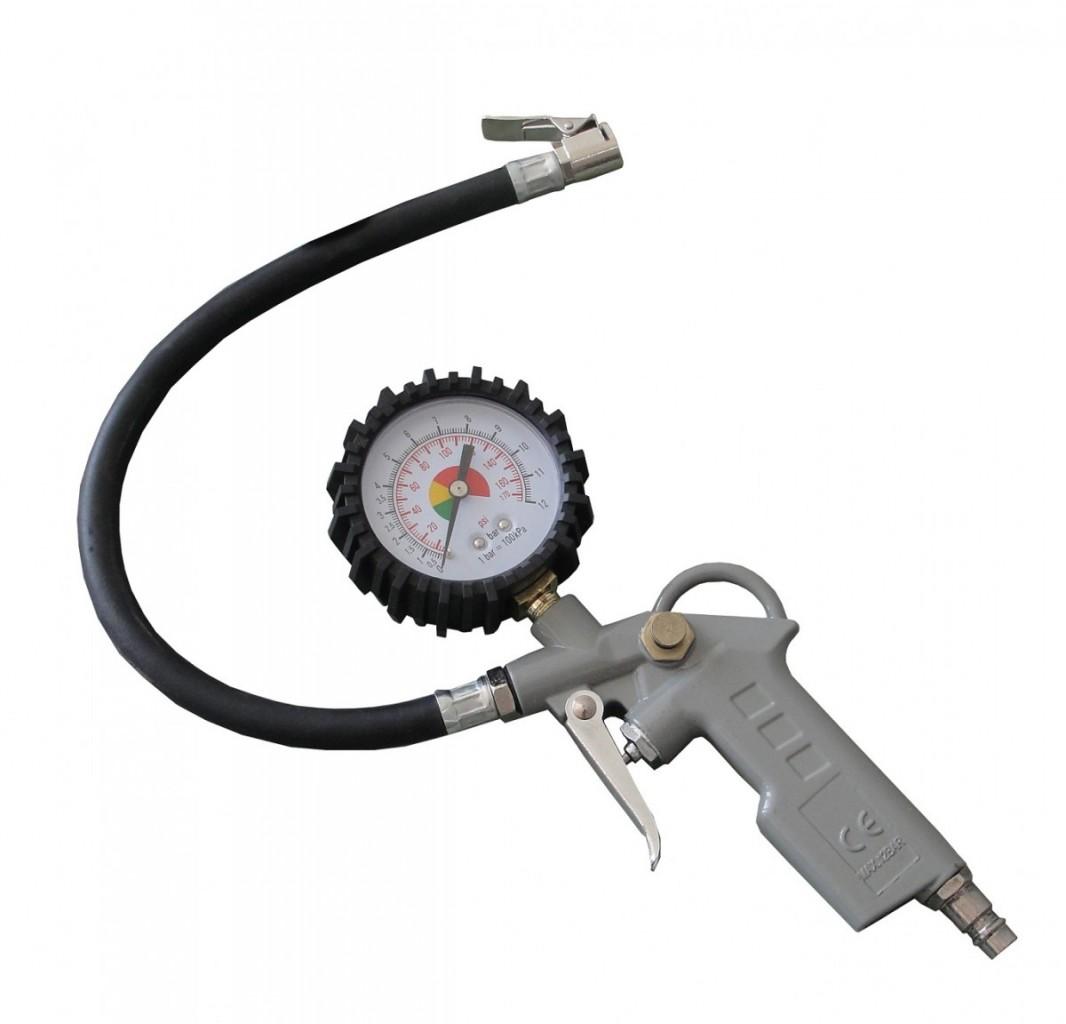 Pistole na huštění pneumatik MAR-POL 0,8 MPa s manometrem M80700