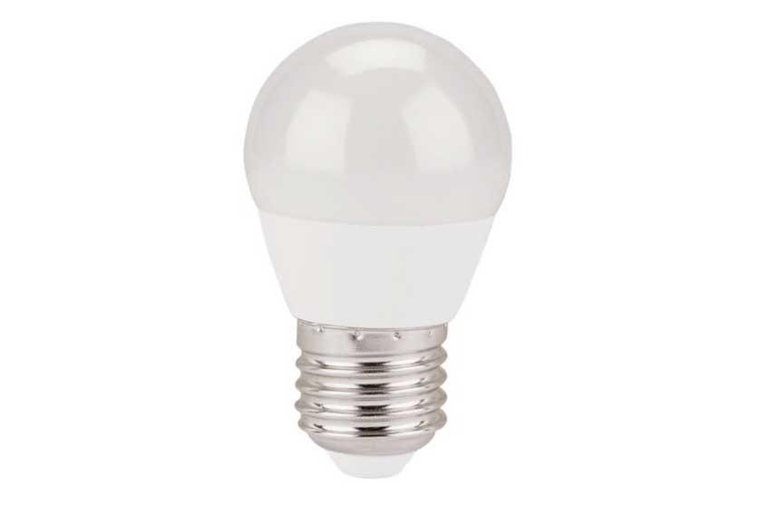 Žárovka LED mini EXTOL 5W, 410Lm, E27 teplá bílá 43006