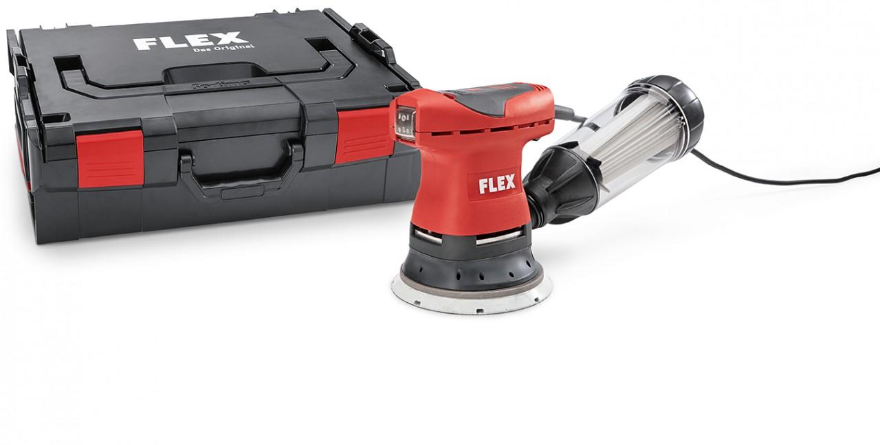 Exentrická bruska FLEX 200W, 125mm ORE 125-2 Set 429.880
