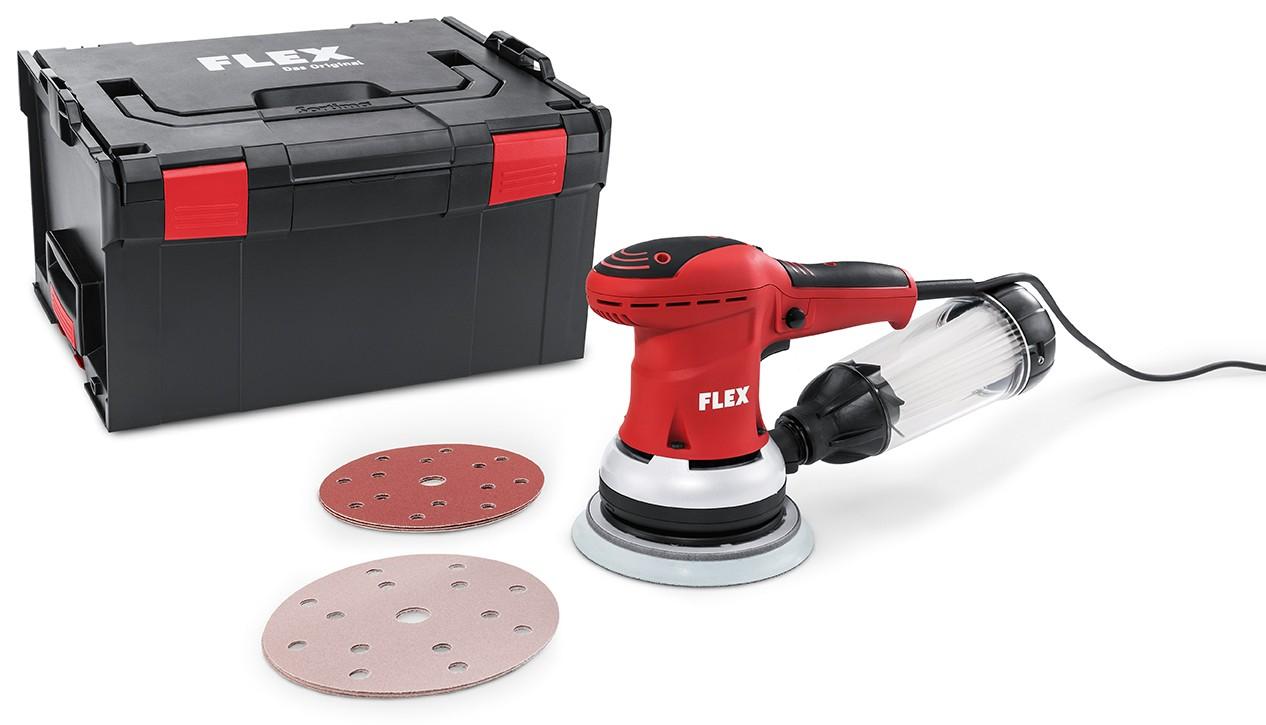 Exentrická bruska FLEX 350W, 150mm ORE 150-5 Set 379.611