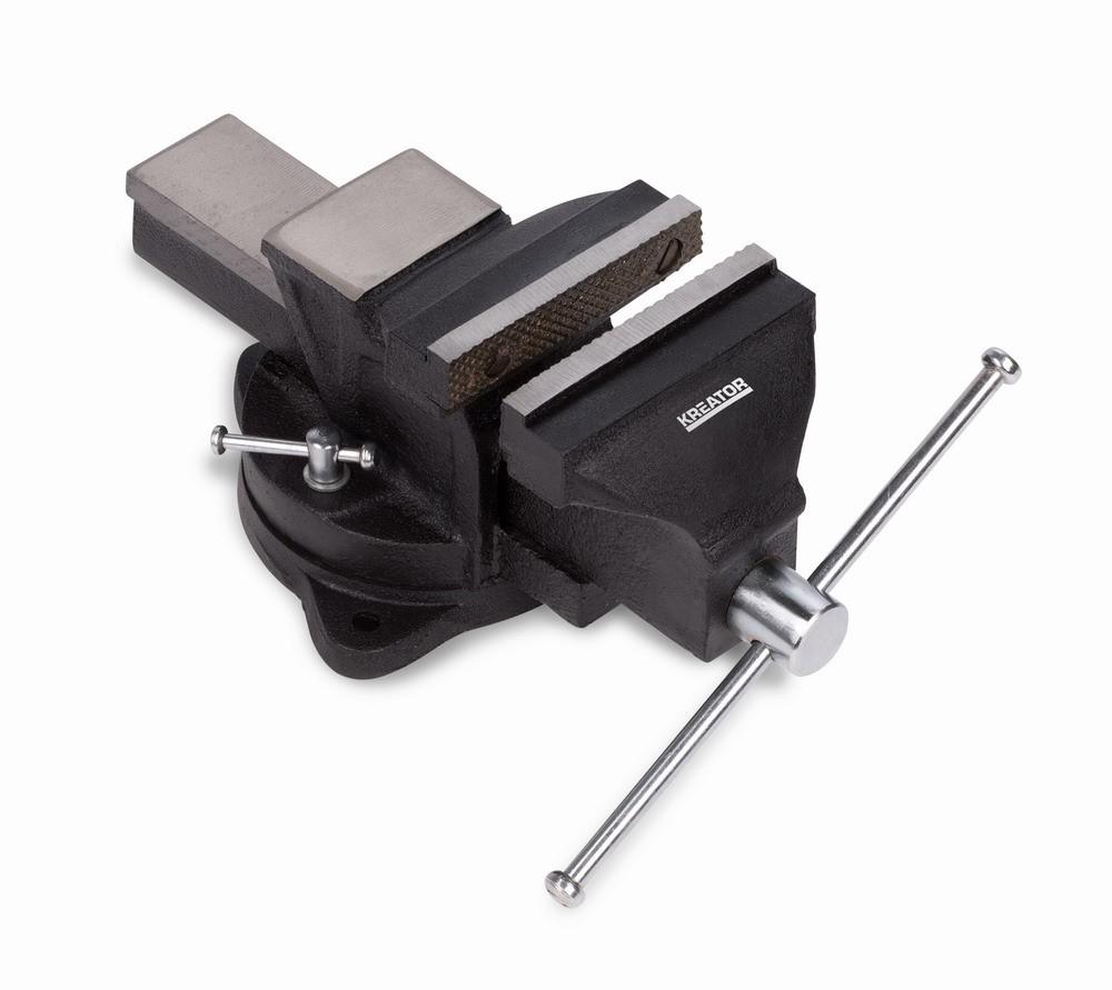 Svěrák otočný KREATOR 150mm KRT554003
