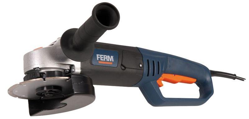 Úhlová bruska FERM 1050W, 125mm FAG-125/1050 AGM1041