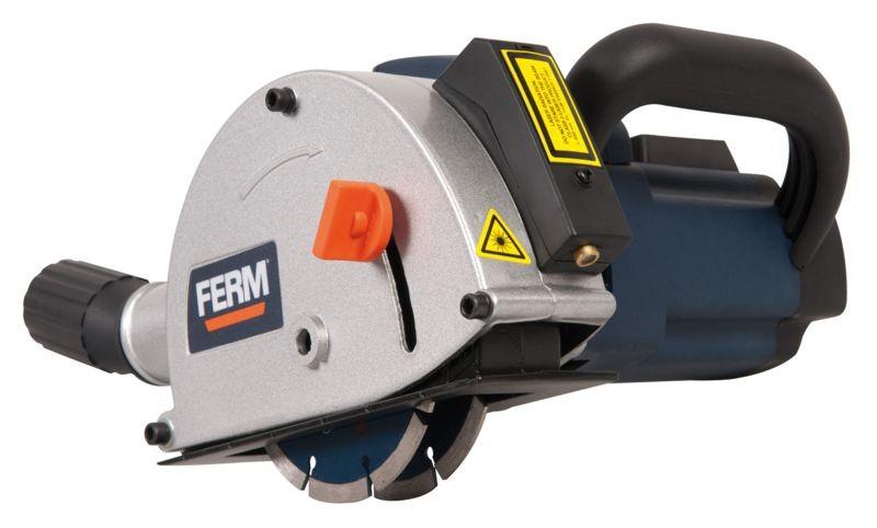 Drážkovací fréza FERM 1700W, 125mm FWS-125/4K WSM1009