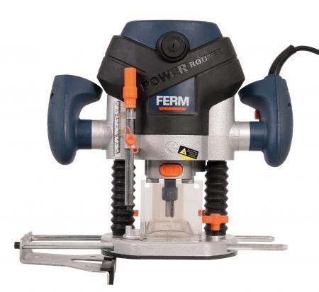 Horní frézka FERM 1300W + sada 6ks fréz FDBF- 1300 PRM1015