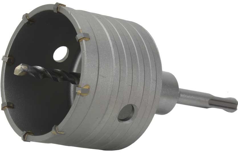 Vrták do betonu korunkový MAR-POL SDS+ průměr 80mm se stopkou M