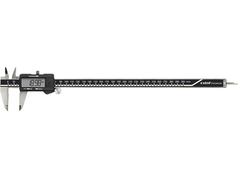 Posuvné měřidlo EXTOL 300mm +-0,01mm digitální 3428