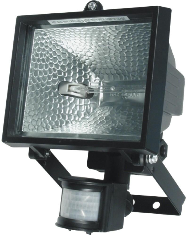 Reflektor halogenový VOREL s Pir čidlem 500W černý 82796
