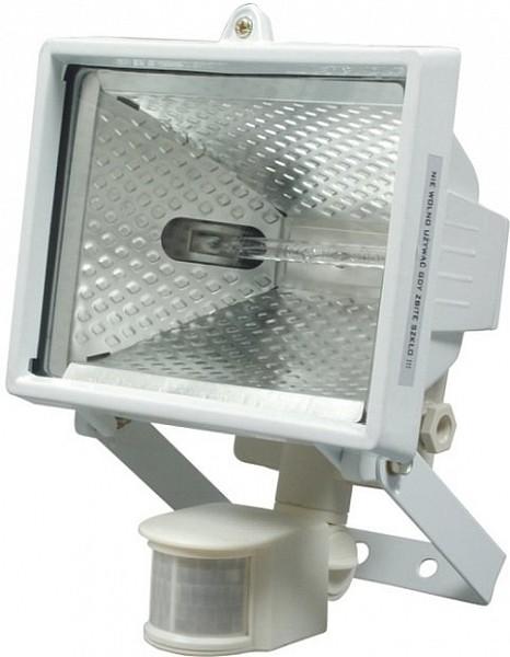 Reflektor halogenový VOREL s Pir čidlem 500W bílý 82798