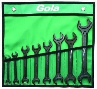 Klíče stranové GOLA sada 8ks, 8-27mm 710008