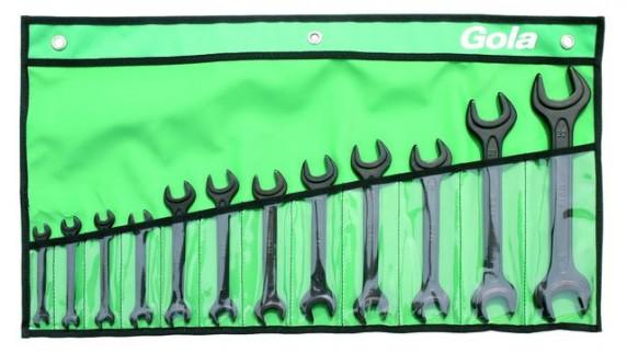 Klíče stranové GOLA sada 12ks, 7-32mm 710012