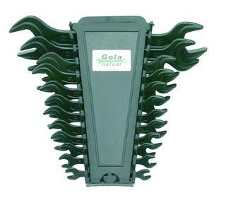 Klíče stranové GOLA sada 12ks, 7-32mm 710112