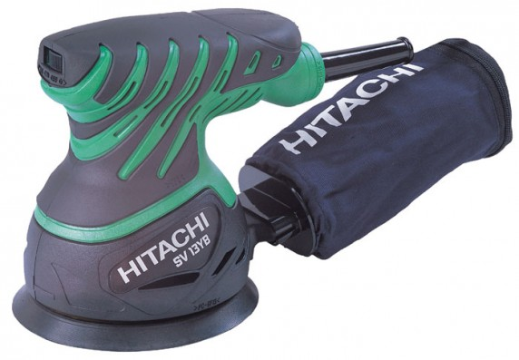Excentrická bruska HITACHI 230W, 125mm SV13YB