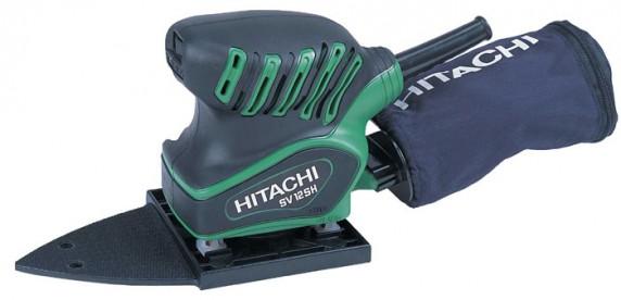 Vibrační bruska HITACHI 200W, 110x100mm SV12SHNA