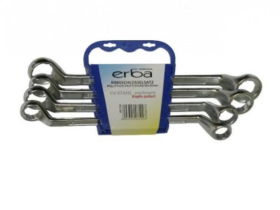 Klíče očkové ERBA sada 4ks ER-06109