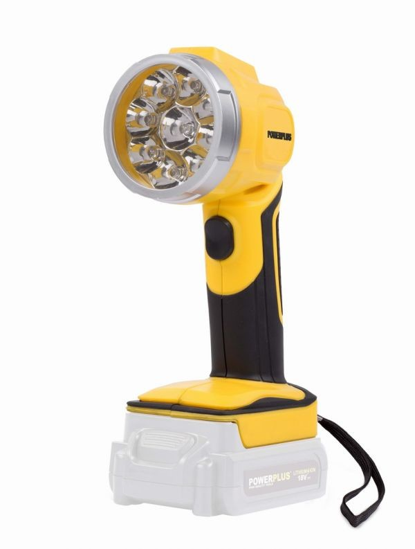 Aku LED svítilna POWERPLUS 18V, pouze tělo POWX0090LI
