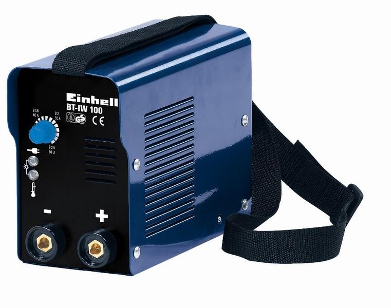 Svařovací invertor EINHELL 80A, 2,5mm BT-IW 100 Blue