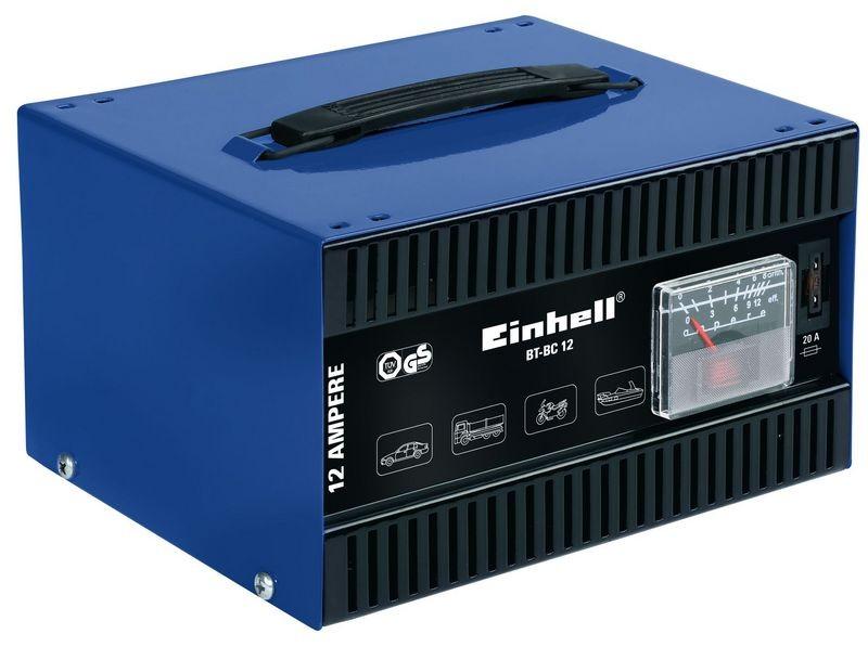Nabíječka baterií EINHELL 12A BT-BC 12 Blue