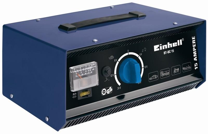 Nabíječka baterií EINHELL 24V, 15A BT-BC 15 Blue