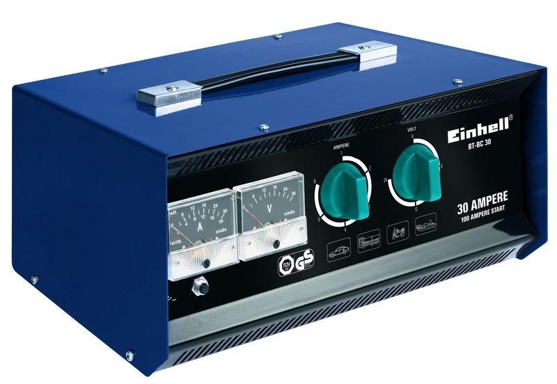 Nabíječka baterií EINHELL 24V, 30A BT-BC 30 Blue