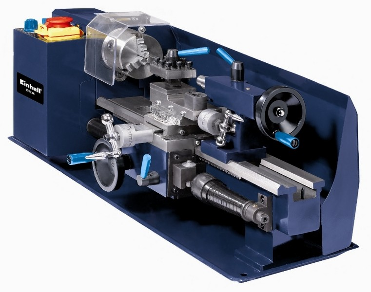 Soustruh na kov EINHELL 400W BT-ML 300 Blue