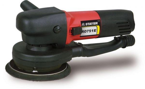 Excentrická bruska STAYER 750W, 150mm RO751E