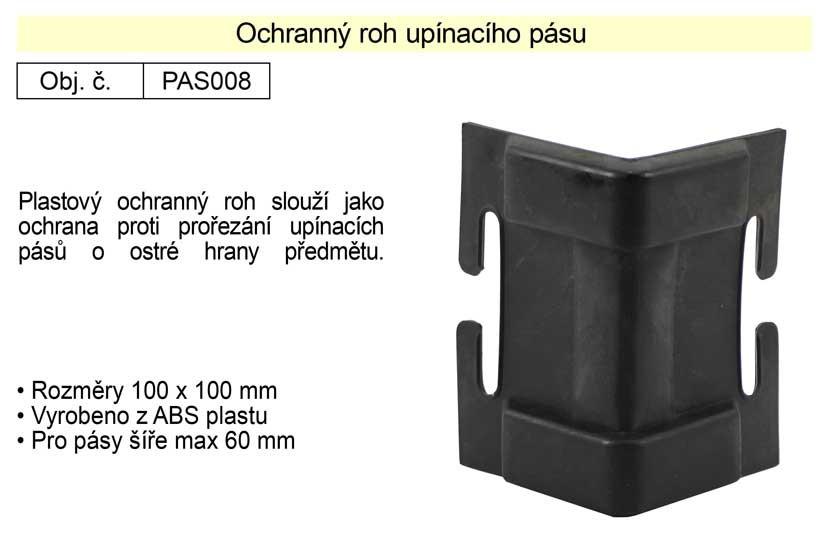 Ochranný roh upínacího pásu šíře 100mm PAS008