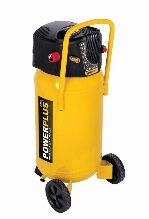 Kompresor POWERPLUS 1,5KW, 222l/min, 50l POWX1750