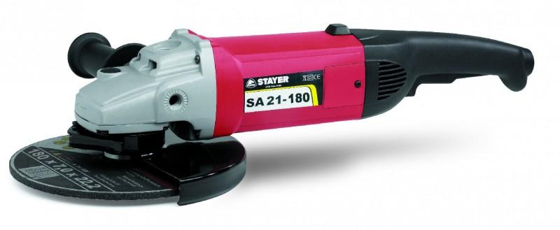 Úhlová bruska STAYER 2100W, 180mm SA21-180