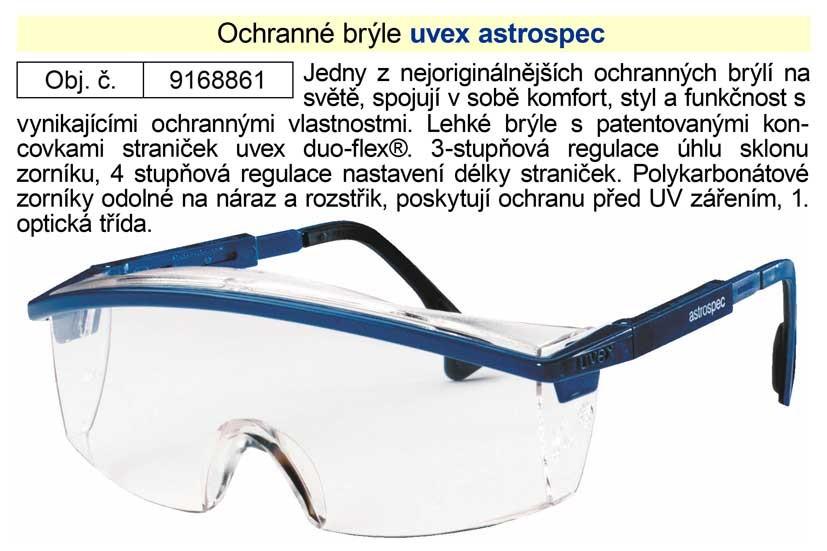 Brýle ochranné Astrospec UVEX čiré 9168861
