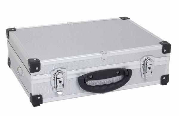 Hliníkový kufr VARO 425x305x125mm se zámky , stříbrný PRM10101S