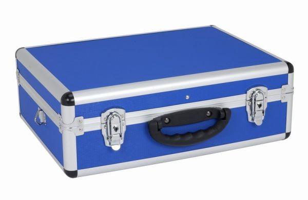Hliníkový kufr VARO 460x330x160mm se zámky , modrý PRM10102BL