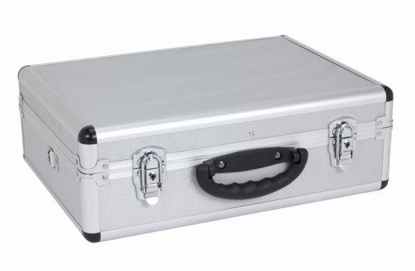 Hliníkový kufr VARO 460x330x160mm se zámky, stříbrný PRM10102S
