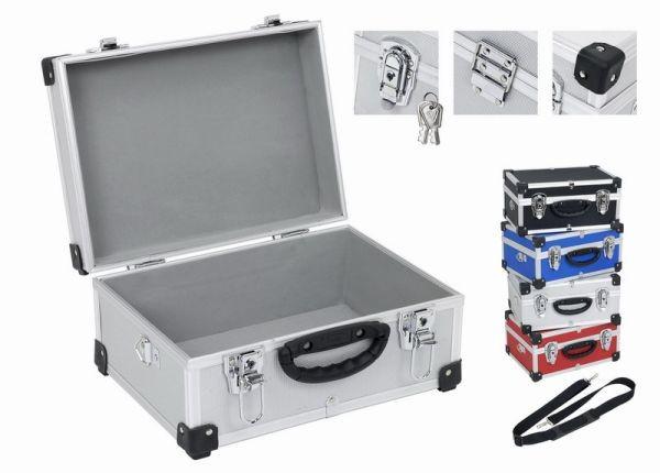 Hliníkový kufr VARO 320x230x150mm se zámky , modrý PRM10106BL