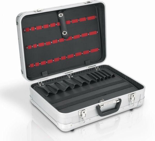 Hliníkový kufr VARO 510x365x200mm se zámky DELUXE PRM10117