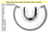 Segmentový řezací kotouč diamantový 88mm oscilační, pro tvrdé materiály   8803863