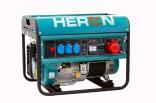 Generátor proudu benzínový HERON 6,5kW, třífázový + jednofázový 8896118
