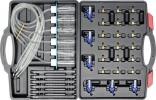 Souprava na diagnostiku vstřikovačů, průtoková YATO 31ks YT-7306