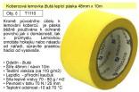 Kobercová lemovka žlutá lepicí páska 48mmx10m T1110