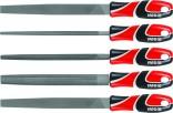 Sada pilníků YATO zámečnických 250mm, 5ks YT-6239