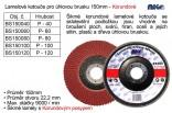 Lamelový kotouč MAGG korundový 150mm P100  BS150100
