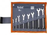 Klíče očkoploché EXTOL sada 8ks, 7-19mm CrV   6319