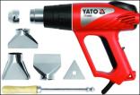 Horkovzdušná pistole YATO s plynulou regulací 2000W  YT-82293