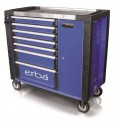 Dílenský vozík ERBA 7 uzamykatelných zásuvek ER-14223